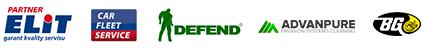 Naši partneři: Elit, Car Fleet Service, Defend, Advanpure